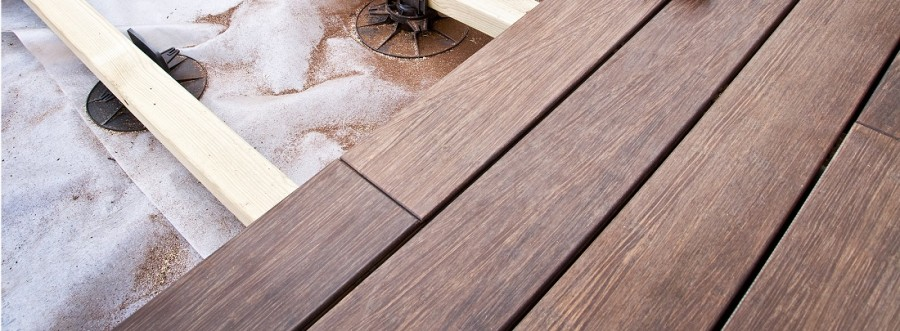 Supremo Outdoor Bamboo Decking